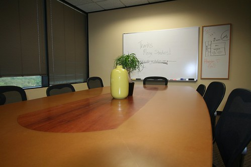Beautiful new conference table from Merge Studios | by tendenci