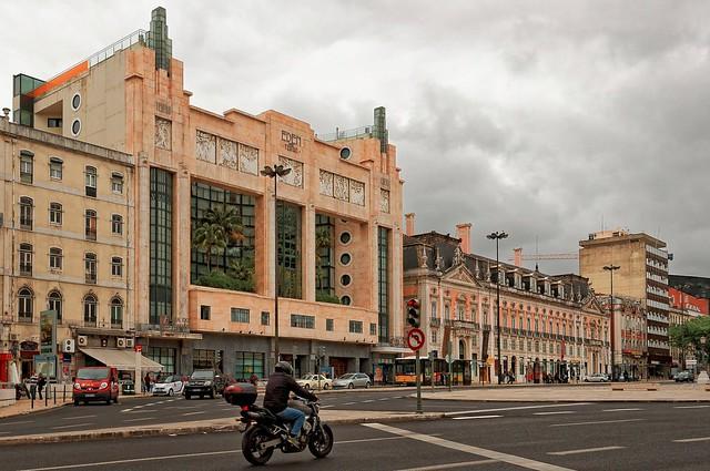 Lisbon : Eden Teatro / Plaça Restauradores