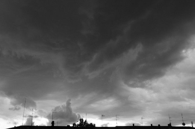 The storm's finger
