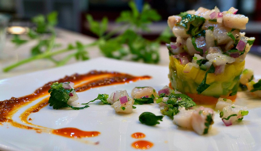 Sean's Timbal of Ceviche