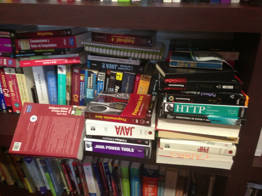 Computer Science Books | Personal Library - My Studio | Flickr