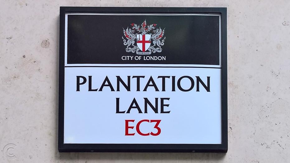 Plantation Lane, City of London, EC3