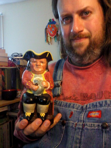 Antique Mall VIII: My Toby jug! | by Jaquandor