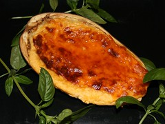 Spanish Eggplant with Cheese and Honey