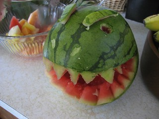 Watermelon T-Rex | by oipom