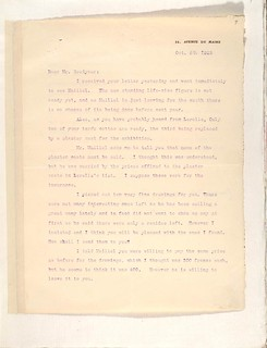 Letter from Cecil Howard on October 8, 1925; page 11a | by Albright-Knox Art Gallery