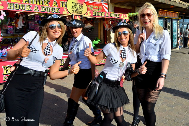 A Very Arresting Situation .... Mental Ladies In Blackpool