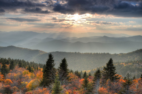 Cowee Mountain Overlook, Blue Ridge Parkway (MM 430) | by Mountain Photo Gallery