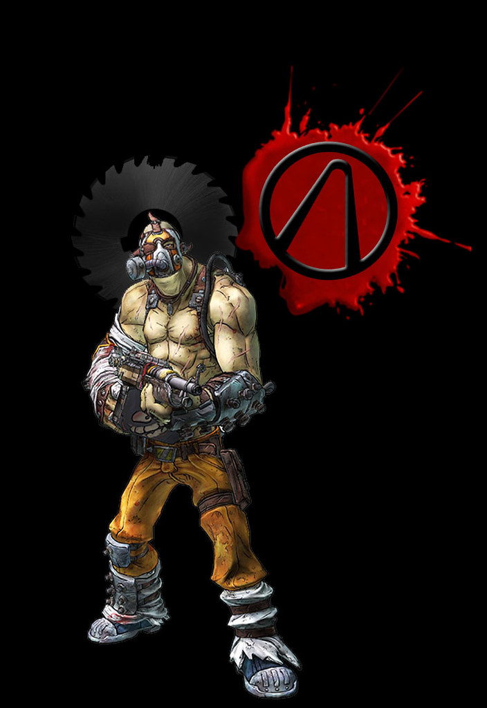 Krieg Iphone Wallpaper Krieg The Psycho From Borderlands W