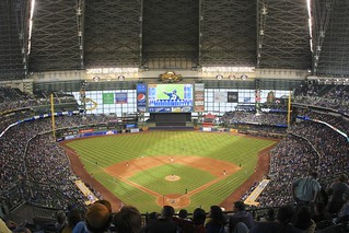 Miller Park, home of Milwaukee Brewers | by daveynin