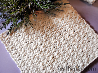 Free Easy Crochet Dishcloth Pattern (3) | by Mellie Blossom