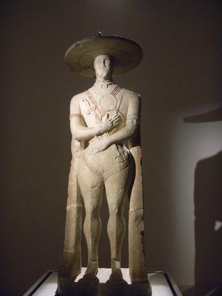 Il Guerriero di Capestrano. Museo Archeologico Nazionale Chieti