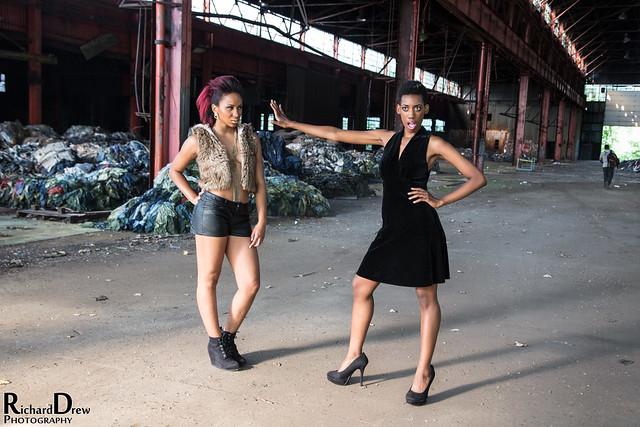 Abandoned building - Model shoot