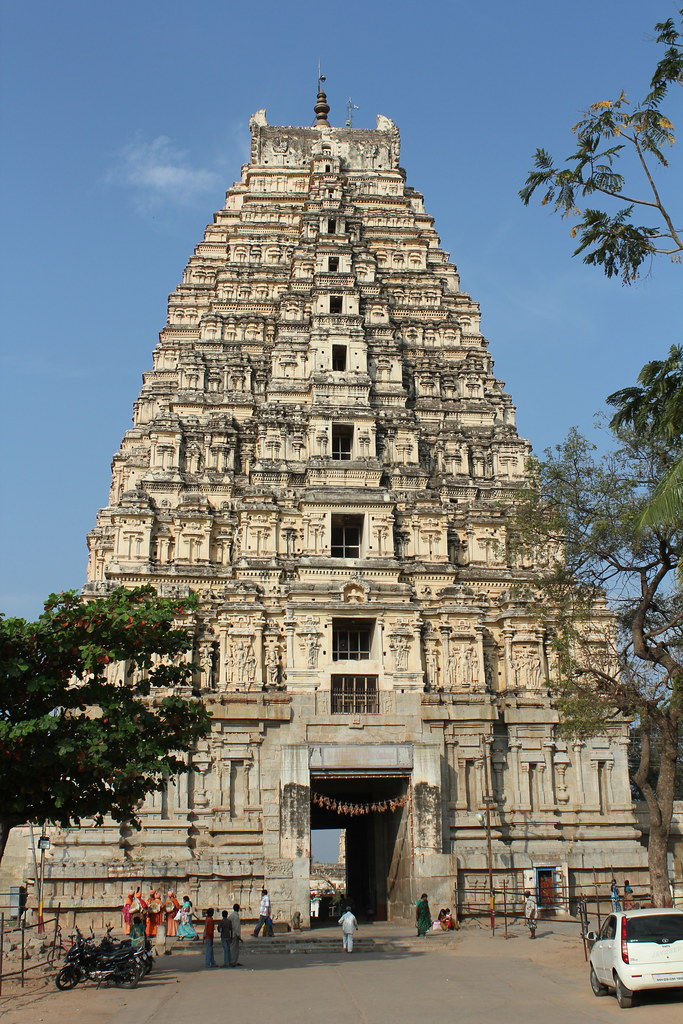 Hampi, Virupaksha Temple   Hampi, Virupaksha Temple See also… The Seven Wonders Of India