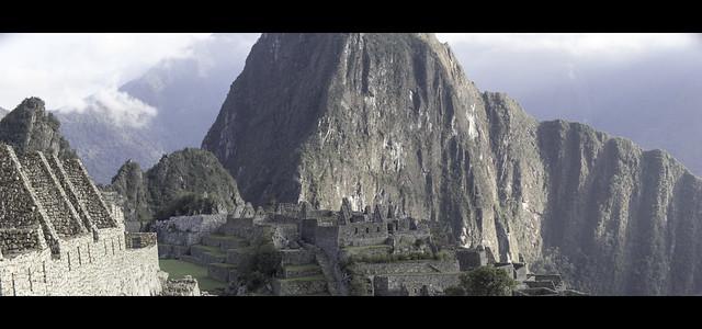 Rising Sun over Machu Picchu