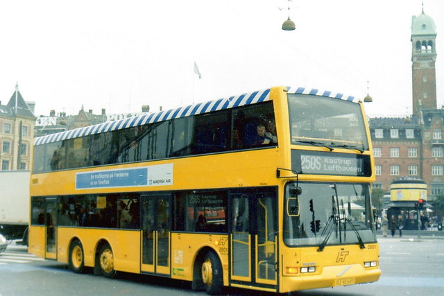 2001 Volvo B7LT City Trafik 2801 newly entered service late 2001