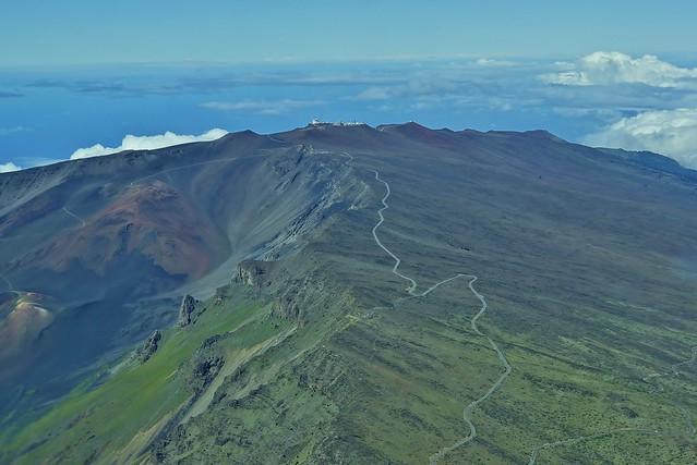 Road to Haleakalā Summit
