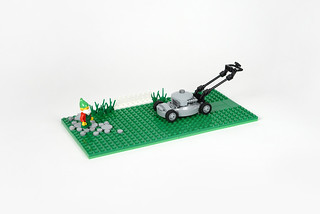 Lego lawn mower - atana studio | by Anthony SÉJOURNÉ
