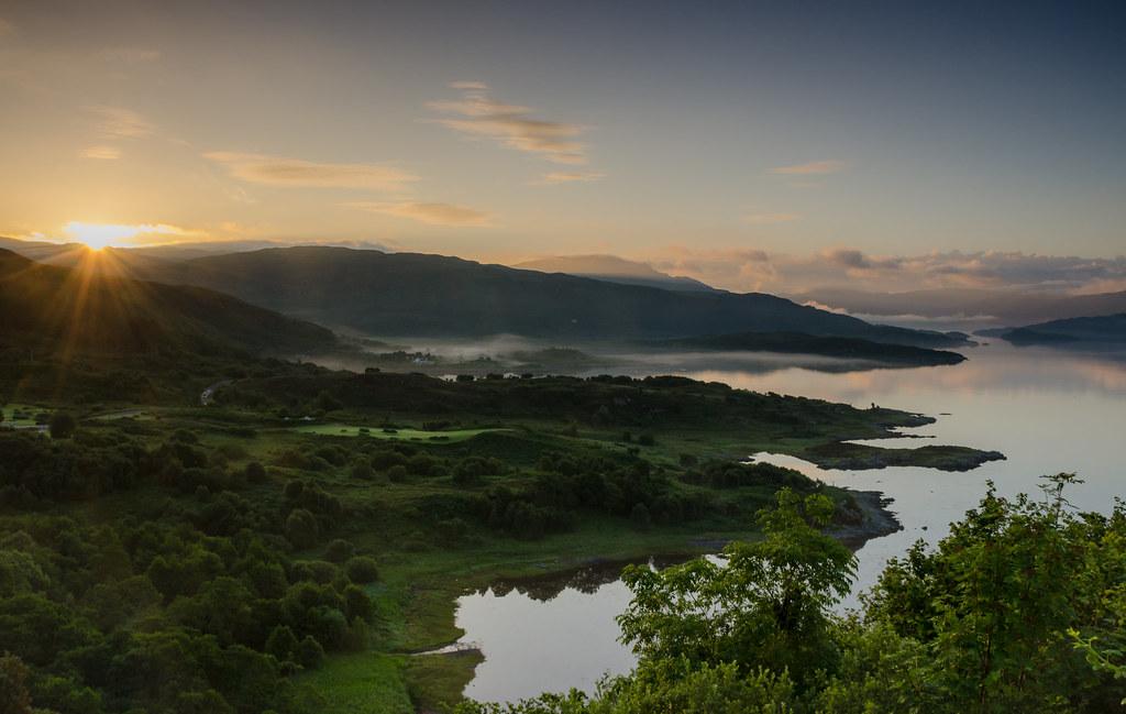 Sunrise Over Loch Sunart