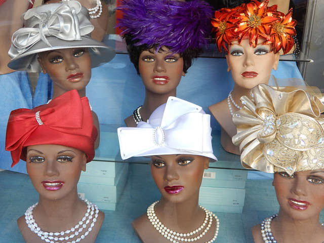 hats and faces
