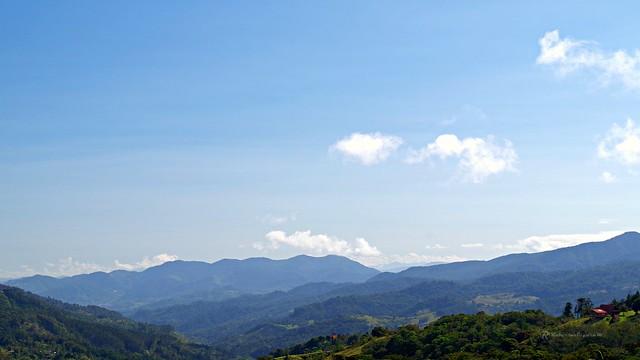 Vista del Parque Nacional Tapantí