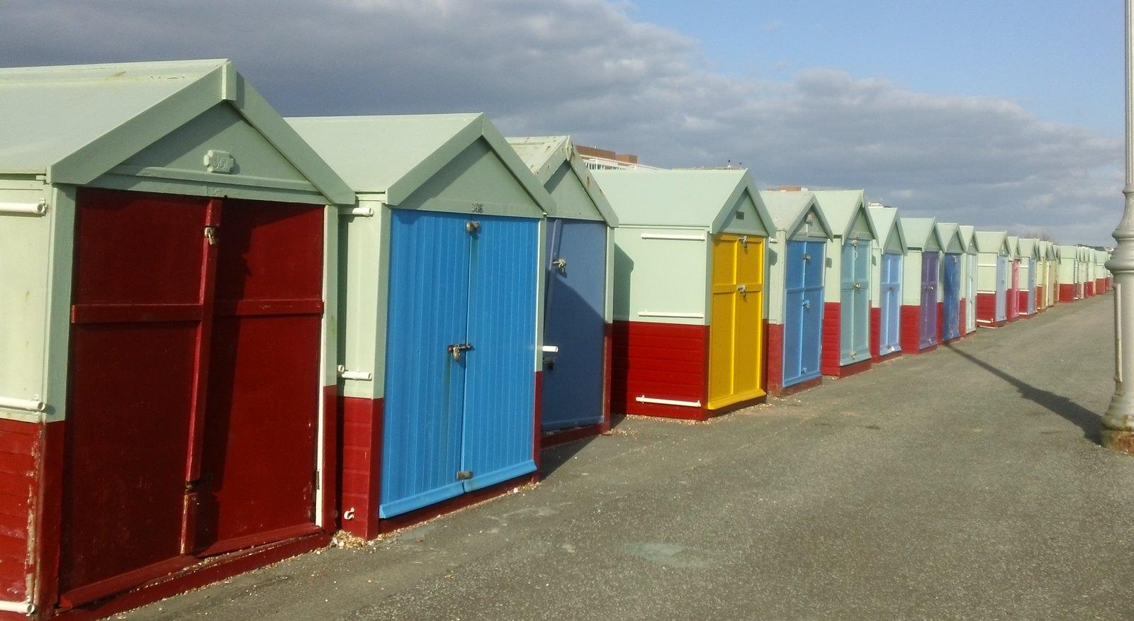 Beach huts Brighton & Hove