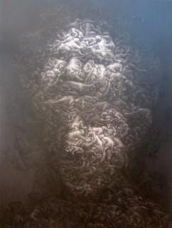 Chana Sansananchai, 'House of Mind', acrylic on canvas | by glasscentralcanberra/ the Kelly Gang