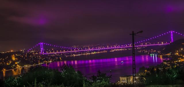 fsm bridge night
