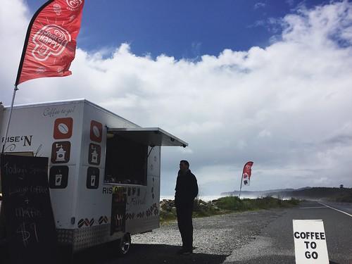 Roadside/beachside coffee cart with soymilk! | by lady3jenn
