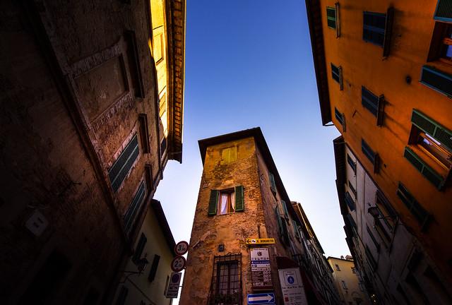 Streets view in Montepulciano - Italia