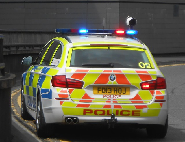 Leicestershire Police (FD13 HOJ)
