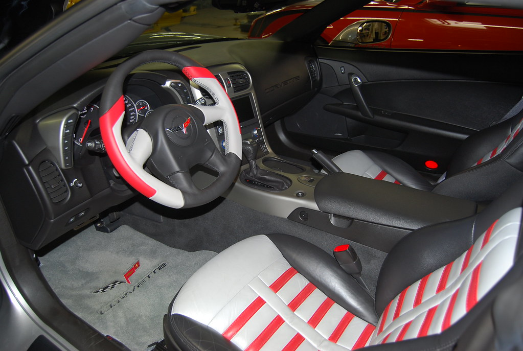 Customized C6 Corvette Interior I M In Awe At The Craftsma Flickr