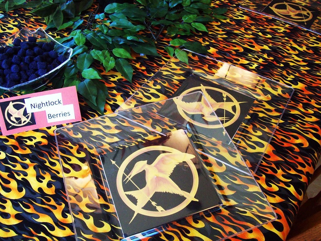 Hunger Games Party Supplies Hunger Games Party Ideas And S Flickr