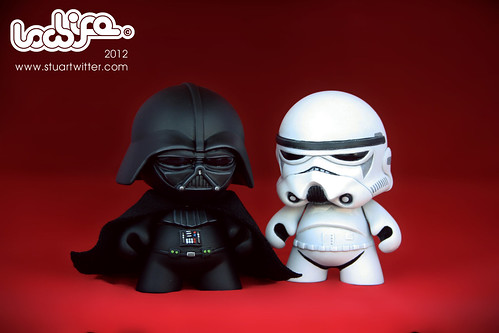 Darth and Stormtrooper