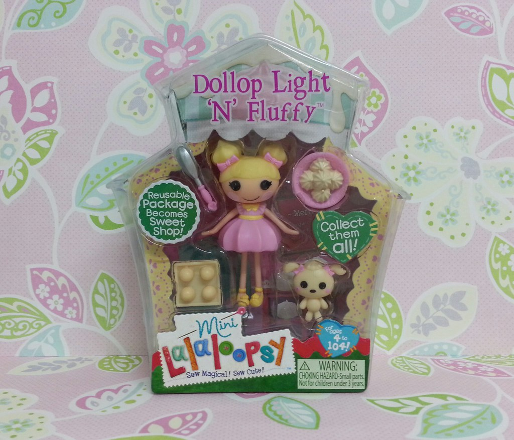 Dollop Light 'N' Fluffy | Mini Lalaloopsy #5 from Serie 8 ... Lalaloopsy Dollop Light N Fluffy