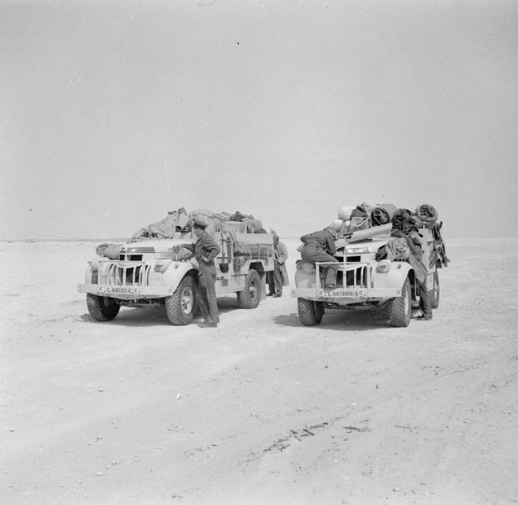 Two fully loaded LRDG
