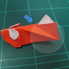 การพับกระดาษเป็นรูปปลาทอง (Origami Goldfish) 025
