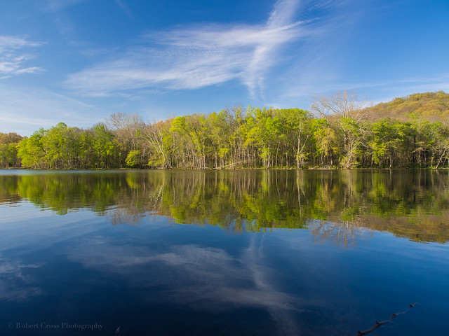 Tennessee Springtime Water & Sky