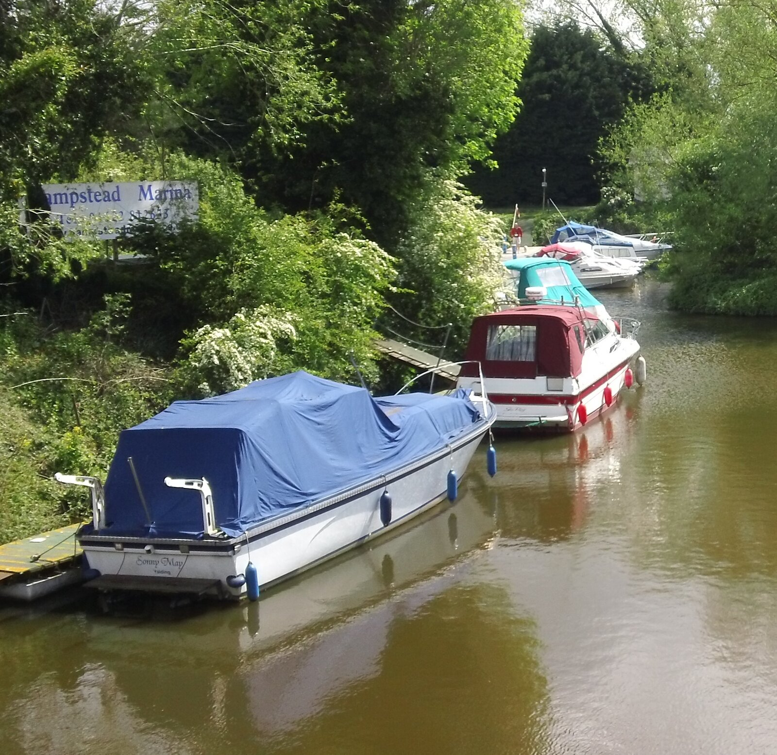 'ampstead Marina' Yalding, Kent