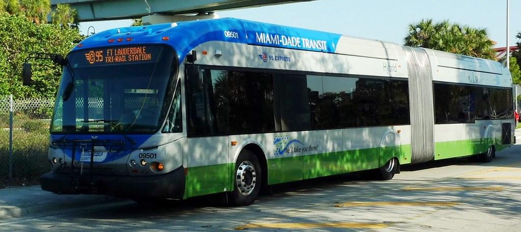 miami-dade transit, route e95 no. 09501 | name: miami dade