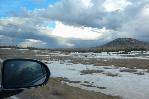 utah snow usa spring ut clouds brianhead unitedstates us