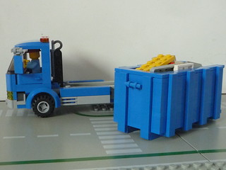 camion benne ampliroll lego | by waly7721