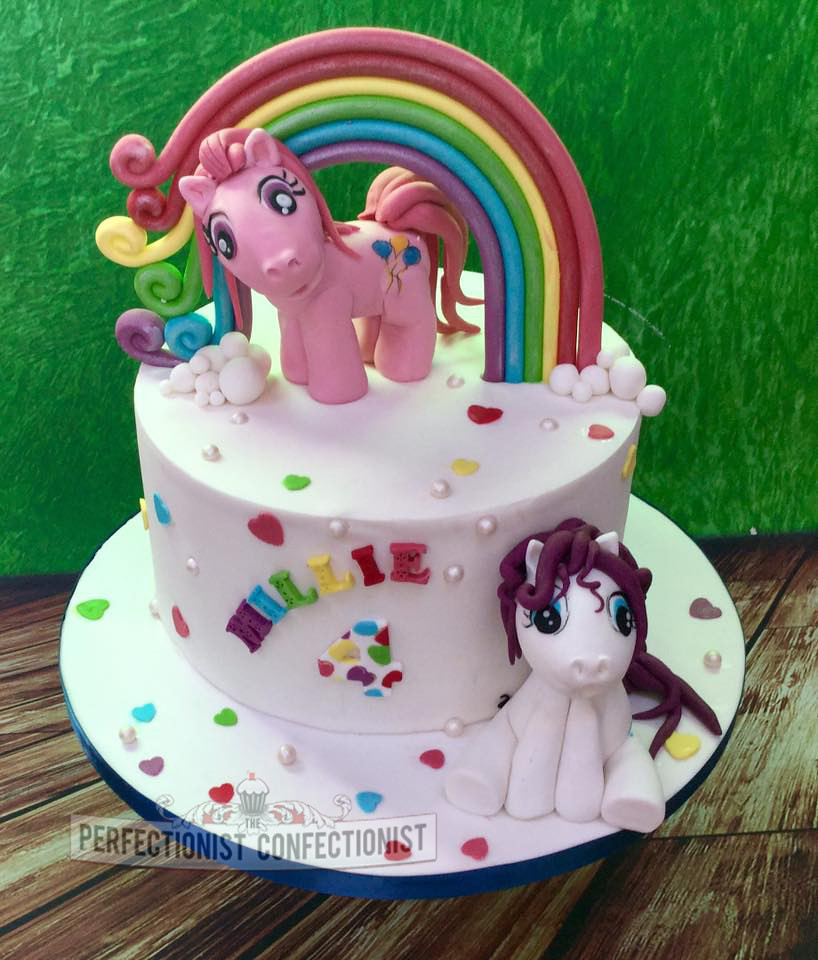 Groovy Millie My Little Pony Birthday Cake Millies Favourite T Flickr Birthday Cards Printable Giouspongecafe Filternl