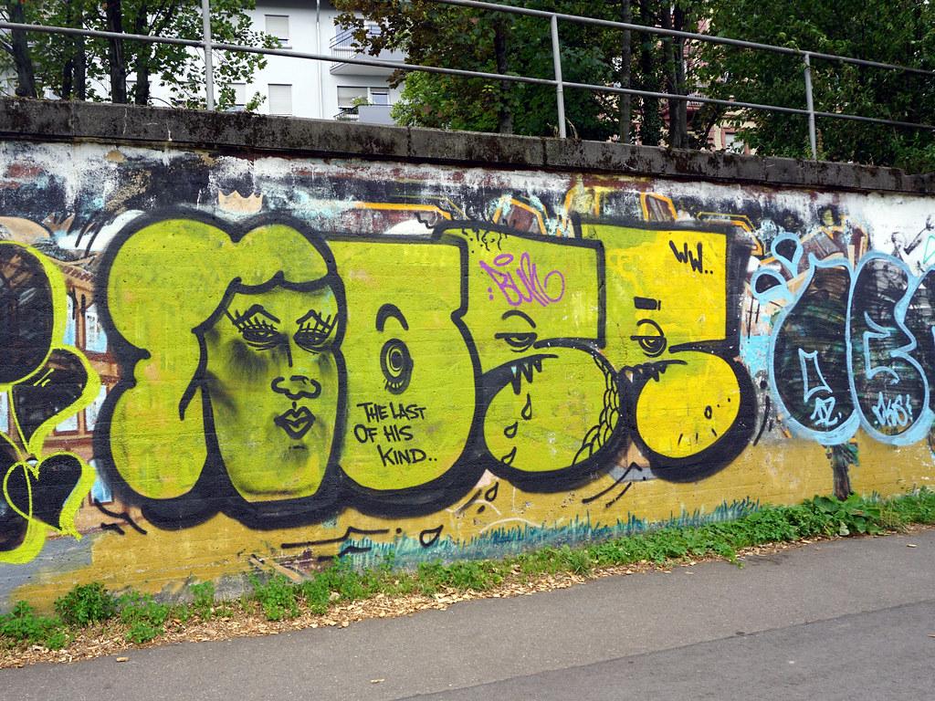 Graffiti in mannheim 2015 by kami68k graz