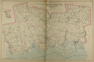 Page 188 and 189 of Town and city atlas of the State of Connecticut. / Compiled from government surveys, county records and personal investigations | by uconnlibrarymagic