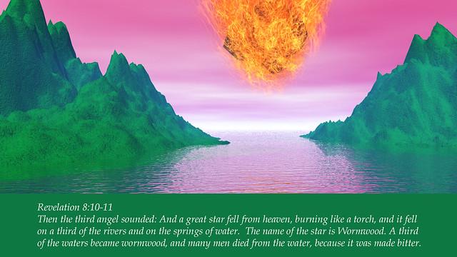 Revelation 8:10-11