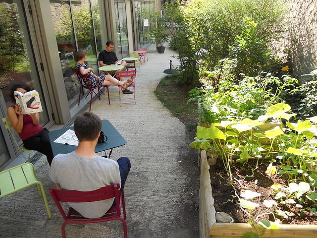 jardin peuplé - août 2013