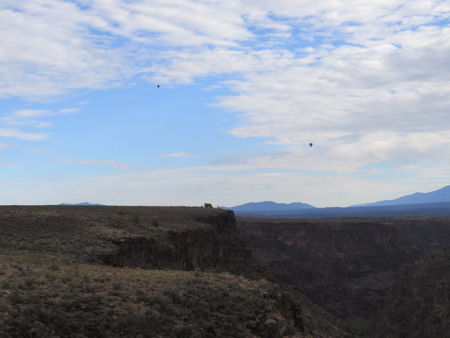 Balloons Over Gorge