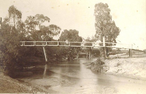 Gawler West footbridge Deland collection | by Gawler History