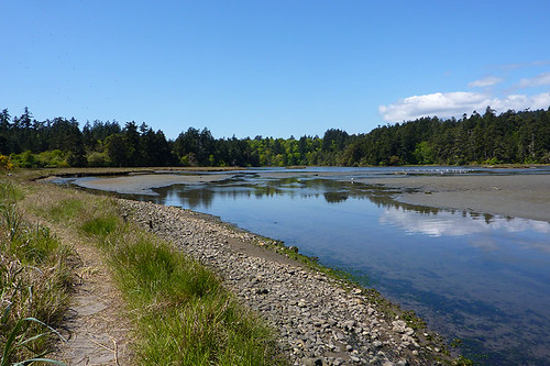 The Lagoon at Witty's Lagoon Park, Metchosin, Victoria, Vancouver Island, British Columbia